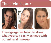 The Livinia Look - stunning mineral makeup