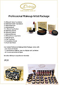 Professional Makeup Artist's Package
