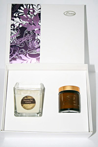 Body Butter and Soy Candle Set