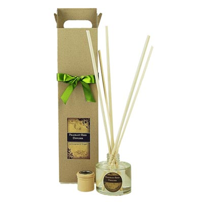 Aroma reeds the fragrance oil is absorbed into the reeds and will